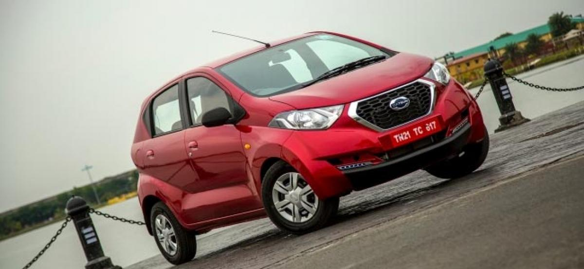 Datsun redi-GO, GO+ MPV Now Available At Canteen Stores Department (CSD)