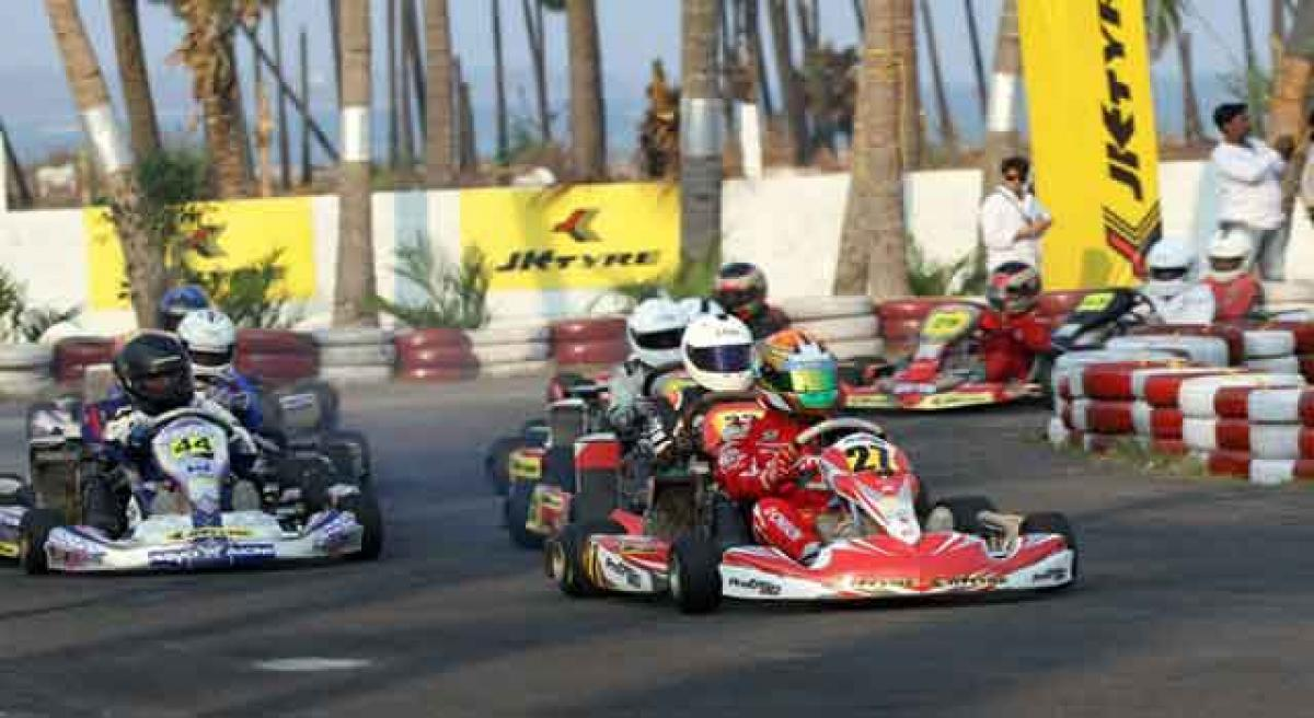 Heat on Championship leaders to deliver at National Karting