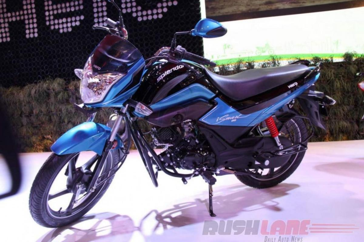 Hero Super Splendor iSmart 125 cc fuel efficient, environment friendly Auto Expo 2016