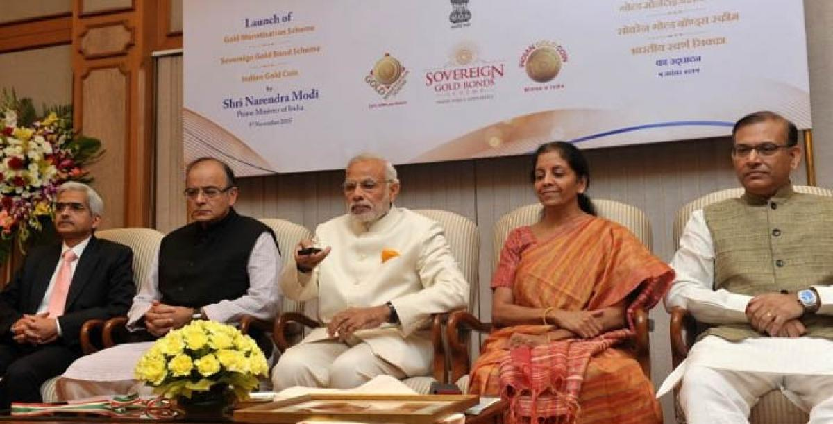 Gold schemes Sone Pe Suhaga, says Modi