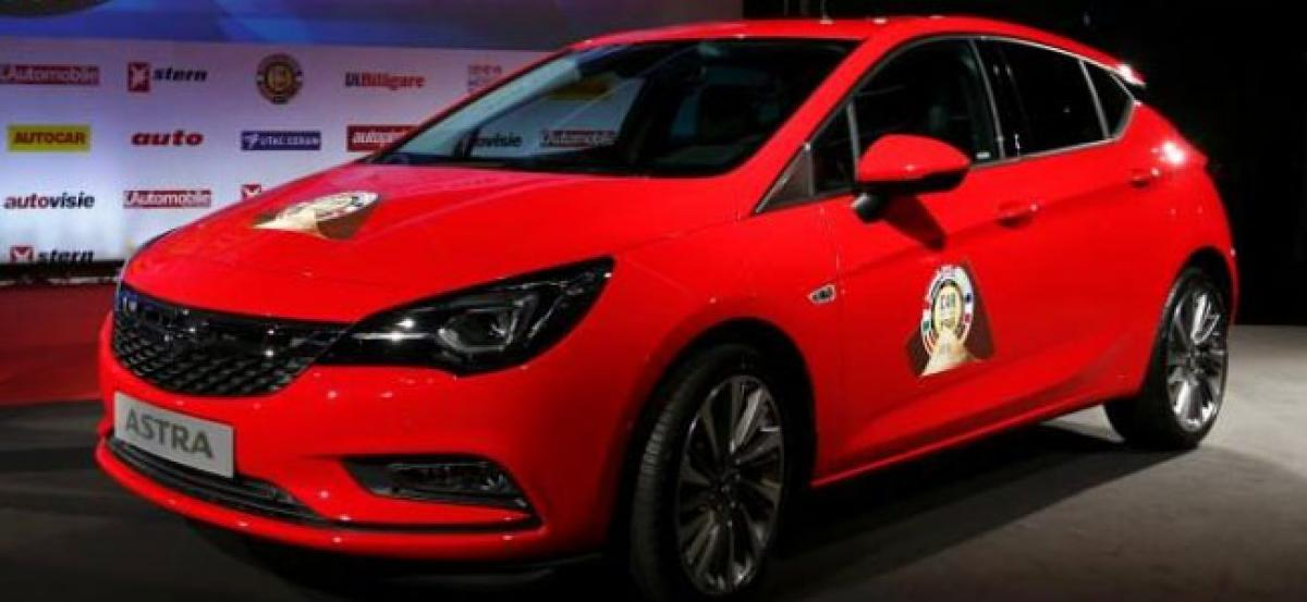 Opel Astra Awarded Car Of The Year Title