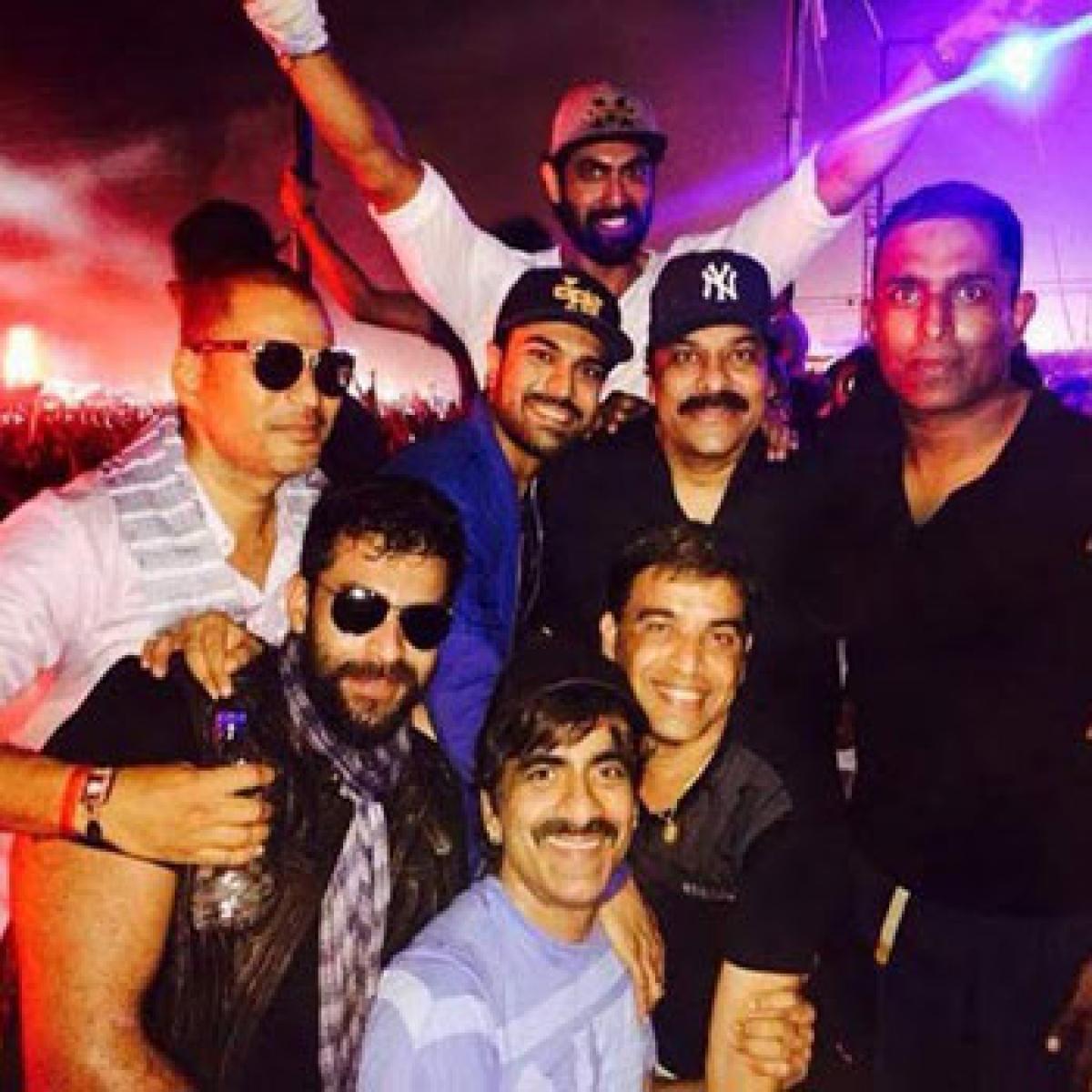 Tollywood stars had a blast at the Sunburn festival 2015 in Goa