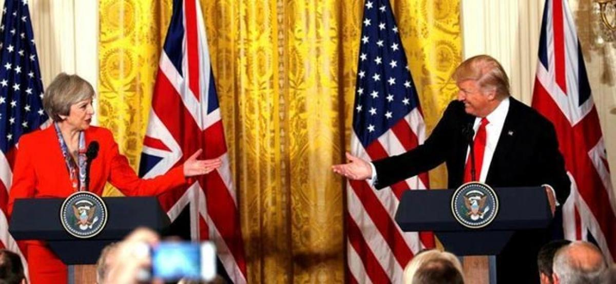 Britains May faces bumpy road to her special relationship with U.S.
