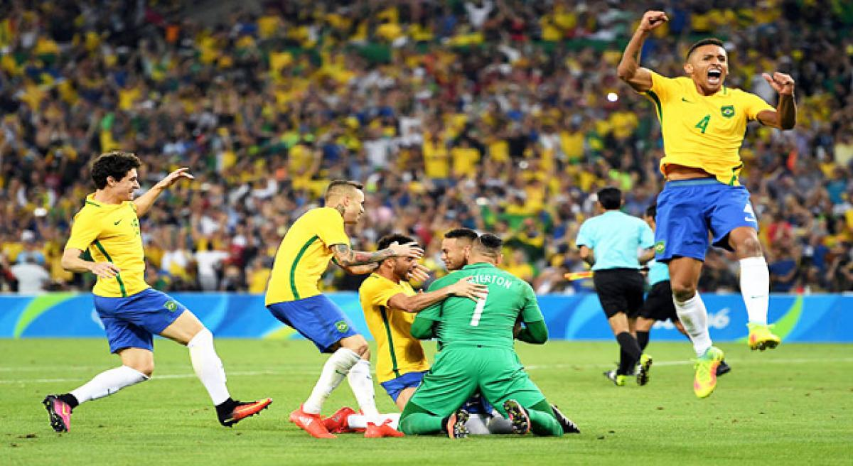 Brazil wins elusive football gold.