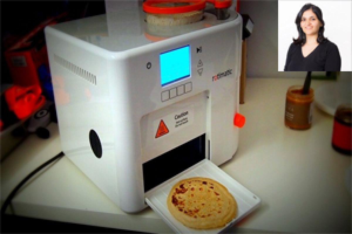 Indian origin engineer in Singapore invents automatic one-minute roti maker