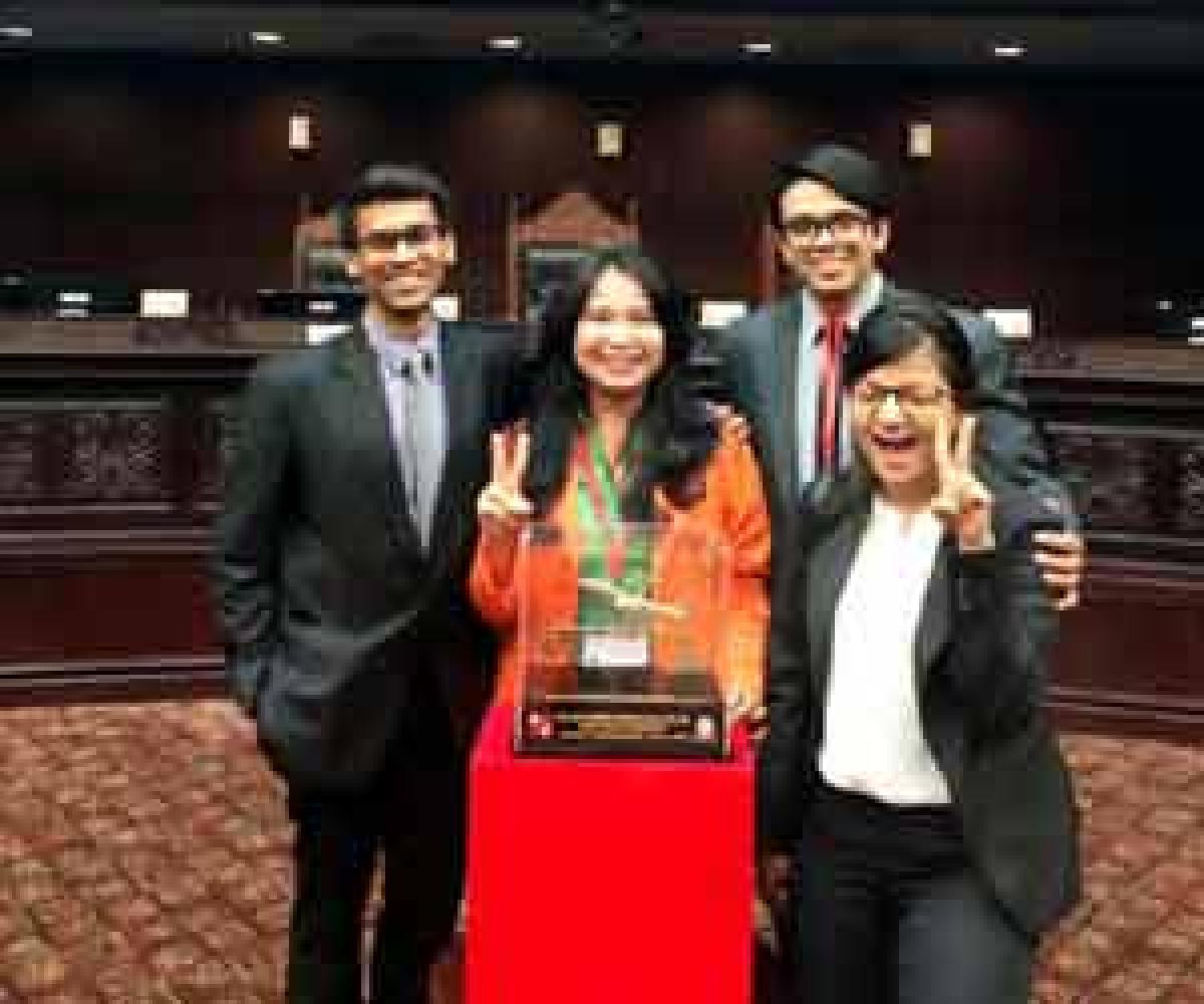 Hyderabad Boy wins international honours