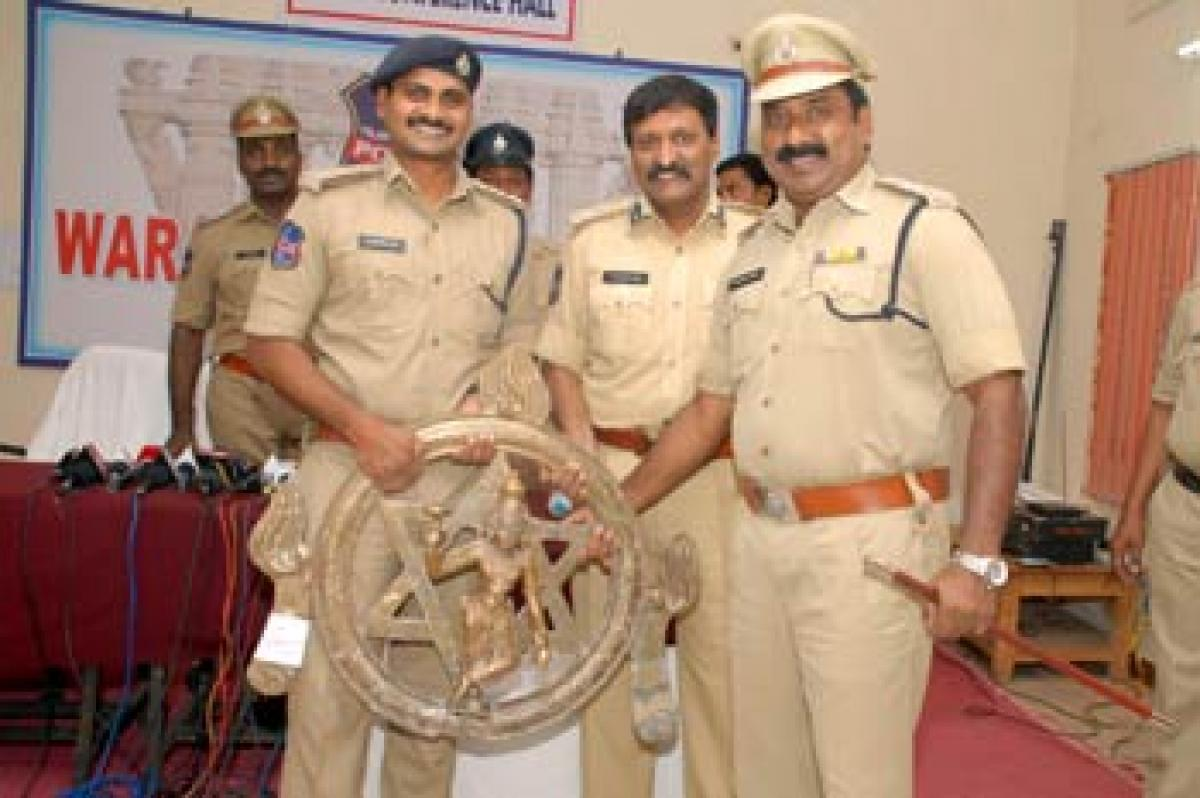 CCS cops recover 1-cr idol within 24 hours of theft