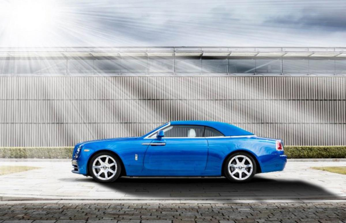 Three new Dawn editions of Rolls Royce unveiled