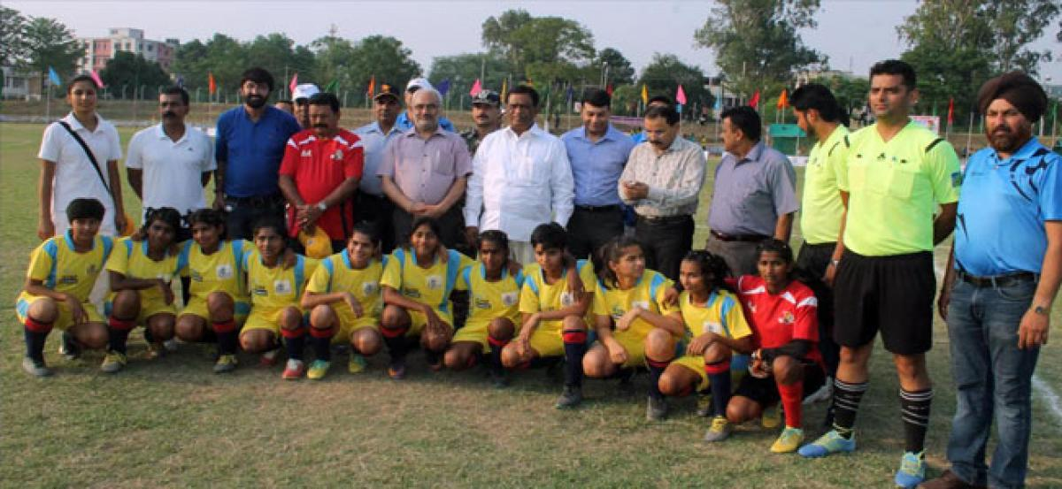 Telangana Girls Finish  Runner-Up in  Oorja Prime Minister Cup