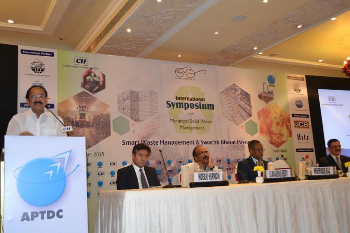 Municipal Solid Waste Management key component of Swachch Bharat Mission: Naidu