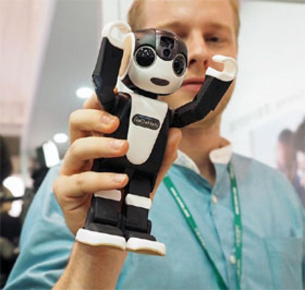 Smart robot phone that can dance if you wish