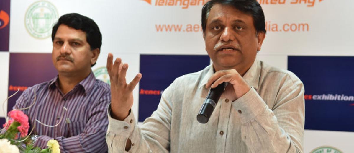 Telangana eyes 2,500 cr investment in aerospace