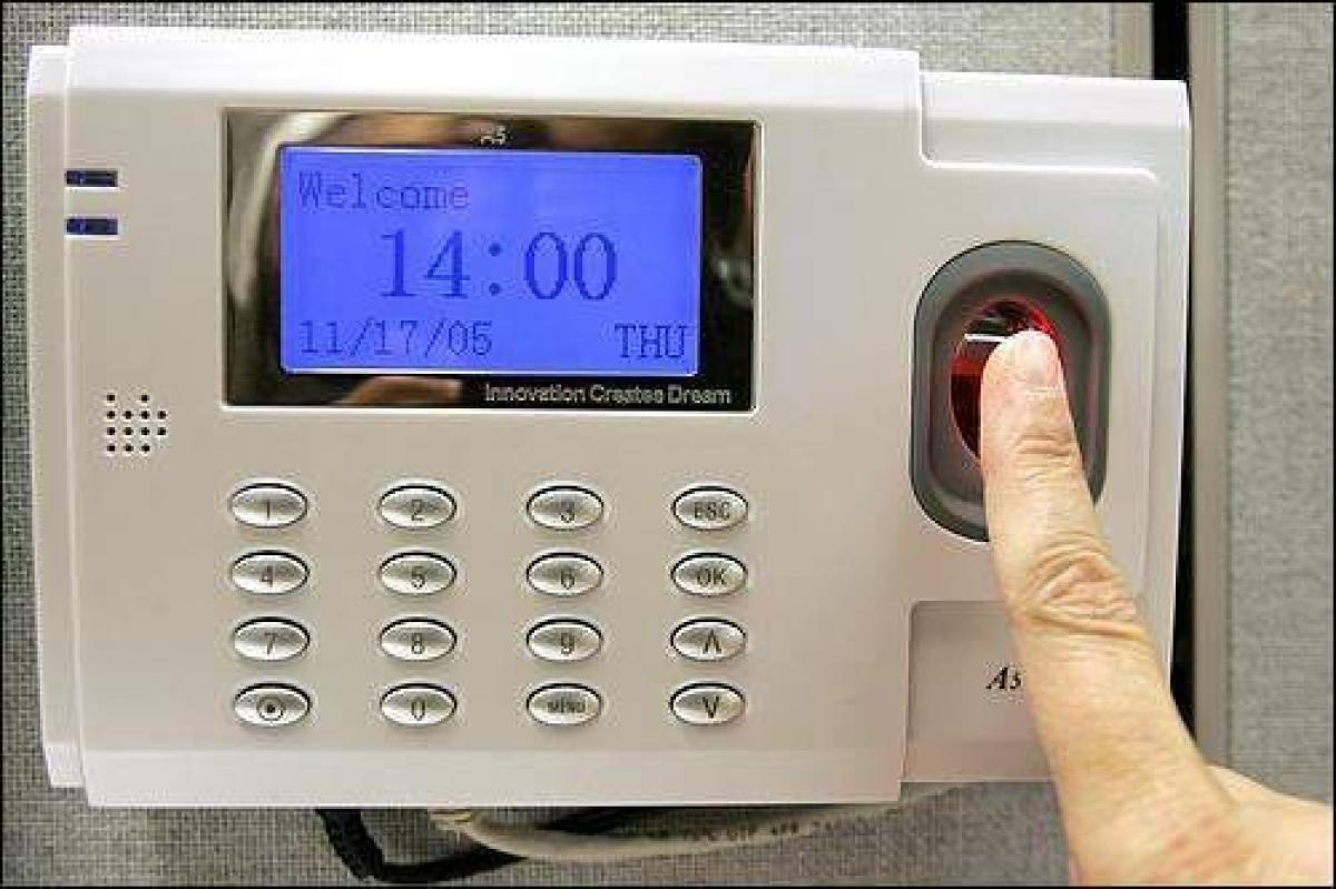 Introduce biometric attendance in all govt hospitals, Collector tells officials