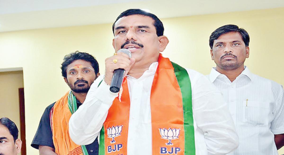 Nookala Narsimha Reddy is new Nalgonda BJP chief