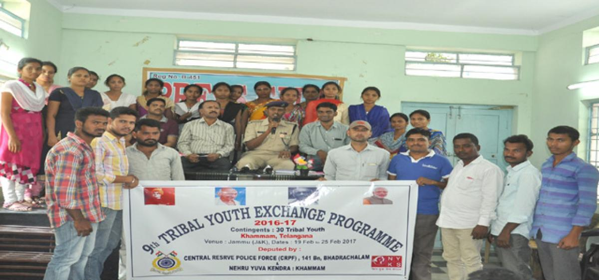 Khammam tribal youths selected for national seminar