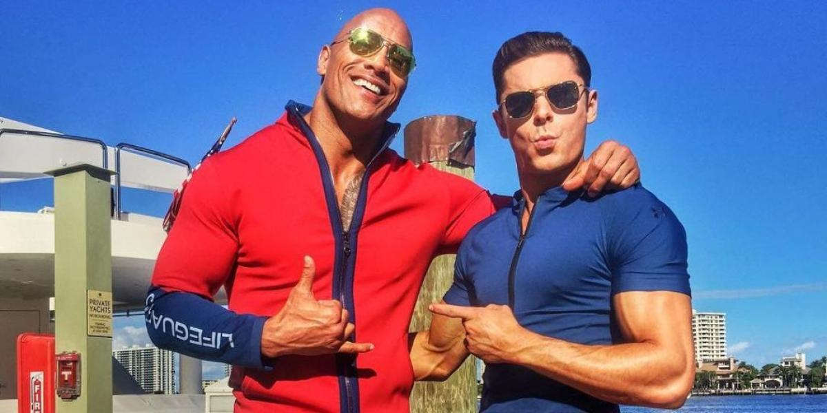 Dwayne Johnson not interested in negative reviews for Baywatch