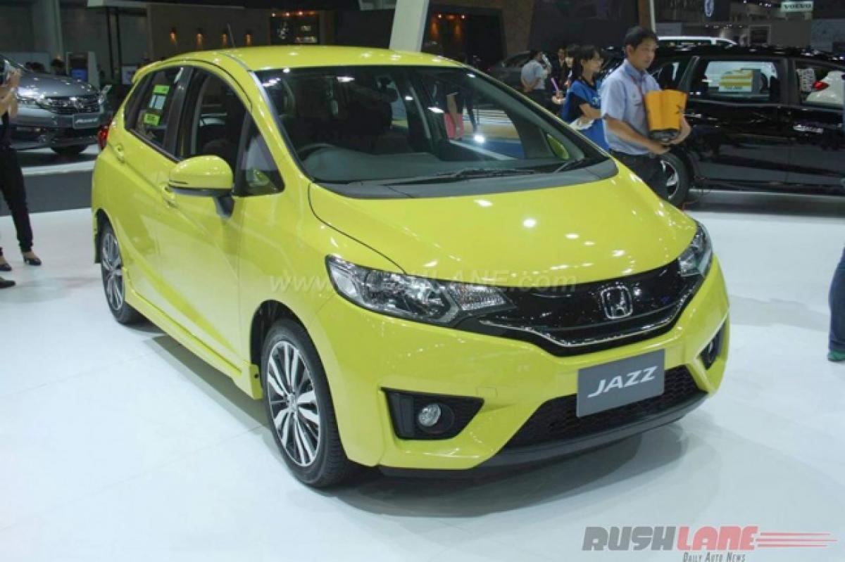 Honda showcases new Jazz at Bangkok Motor Show