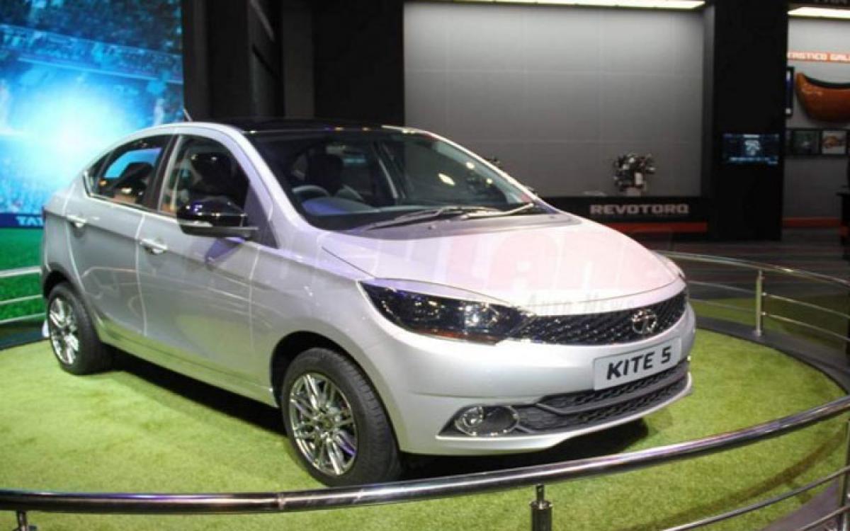 Tata Kite 5 compact sedan features at Auto Expo 2016