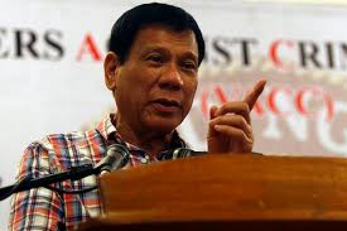 Philippines Duterte warns of offensives if rebels attack