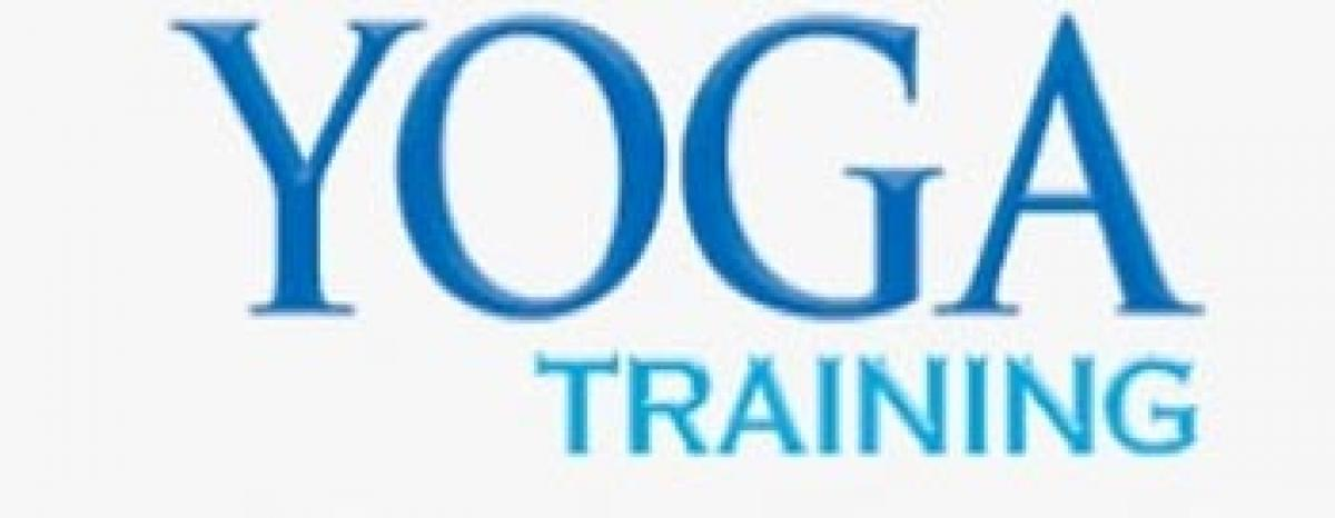 Yoga training from May 21