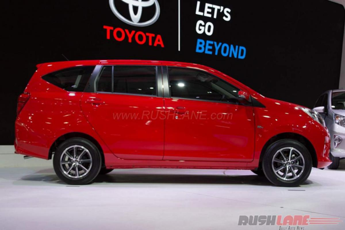 Toyota Calya premieres at Indonesia Auto Show