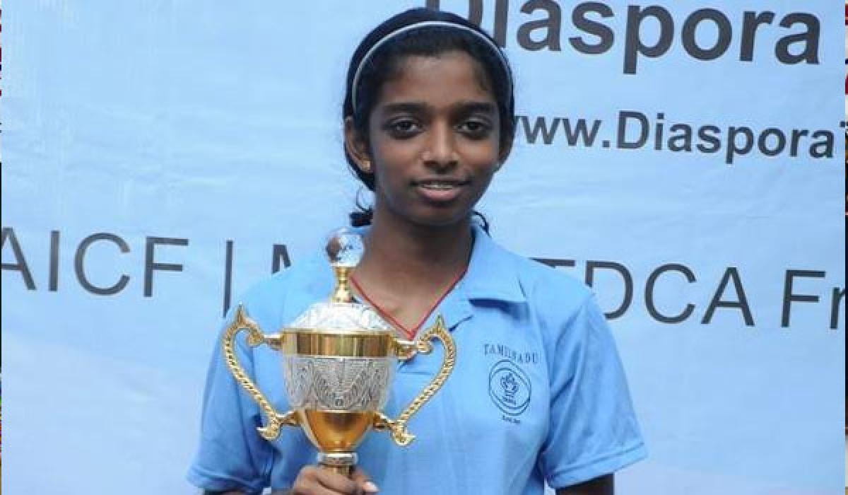 Vaishali wins Asian gold
