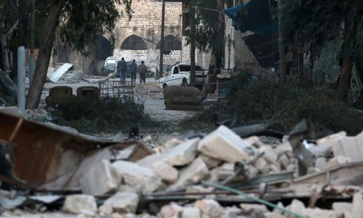 Syrian government seizes another Aleppo district: Monitor