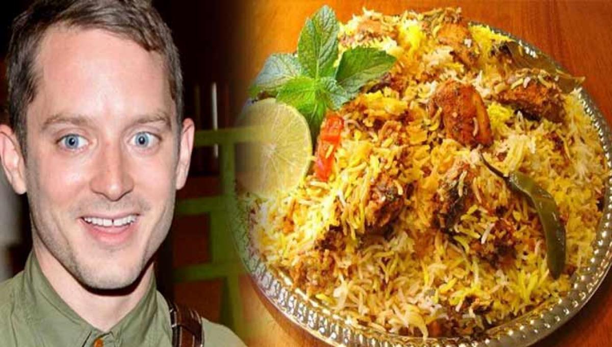 when Lord of the Rings actor ate Hyderabadi Biryani