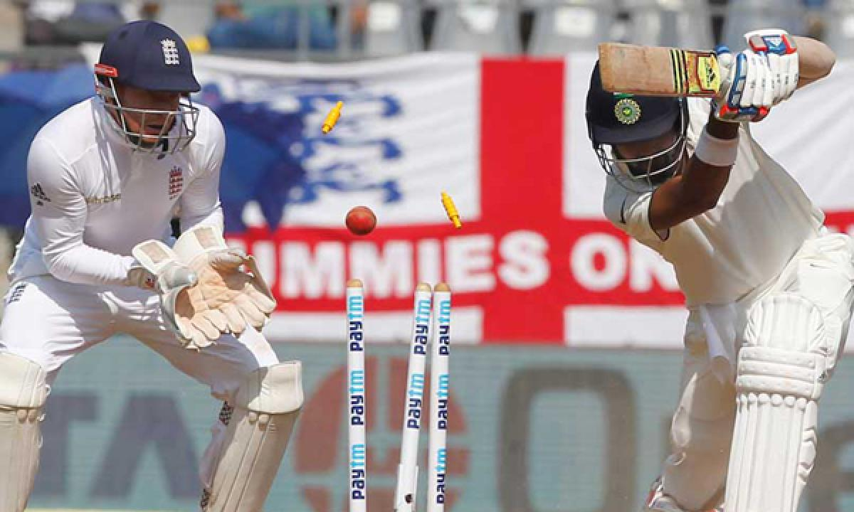 Ind vs Eng: India makes 62/1 in their first innings