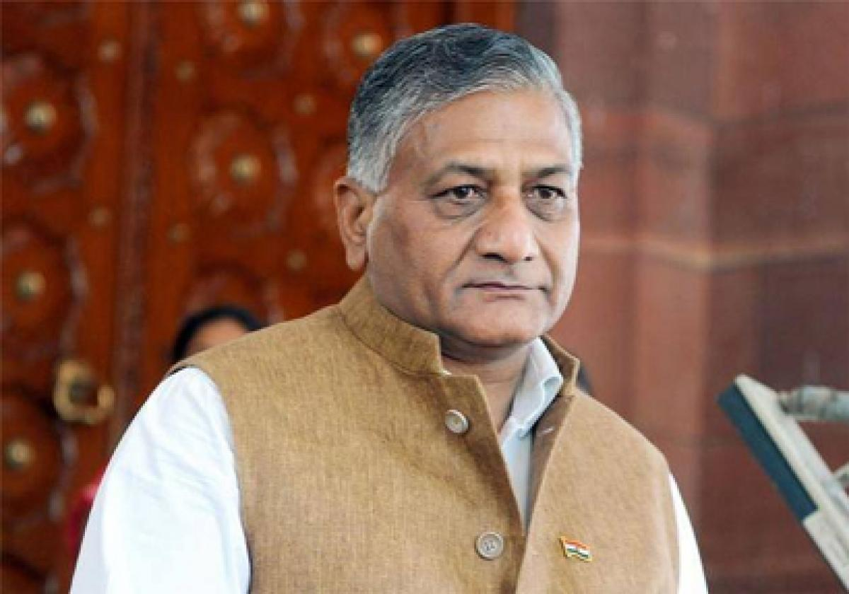 Award wapsi was a conspiracy, says Union Minister VK Singh