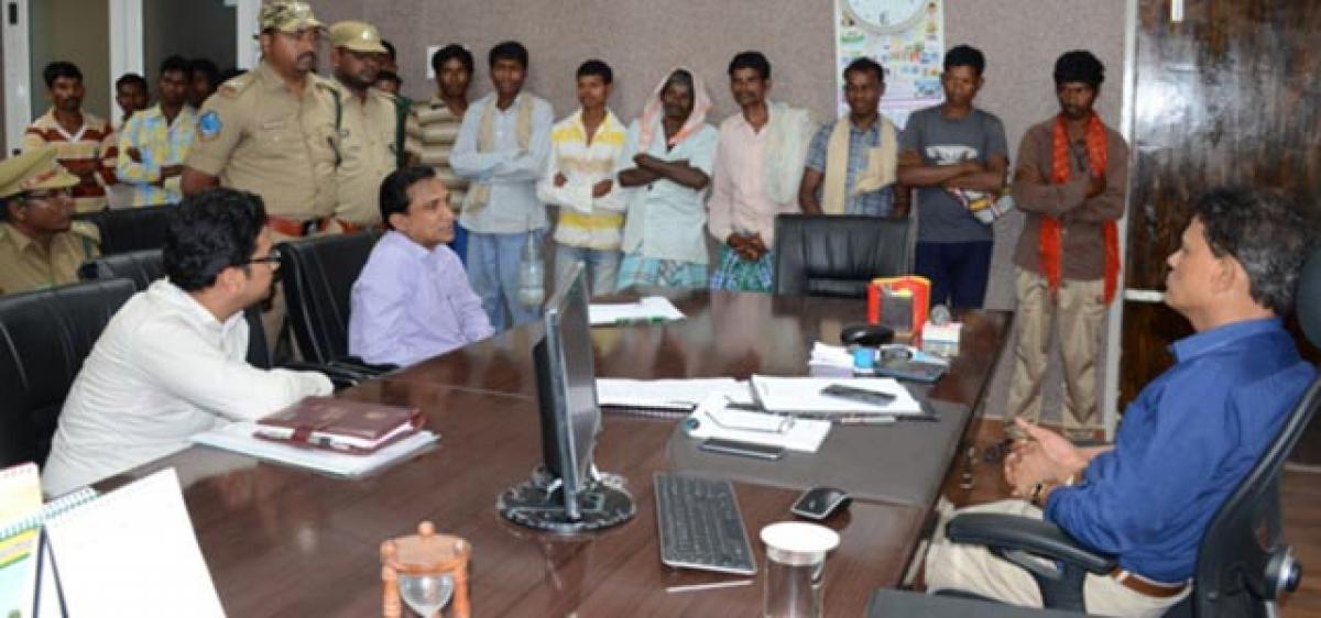 Gutti Koyas' migration causes major concern