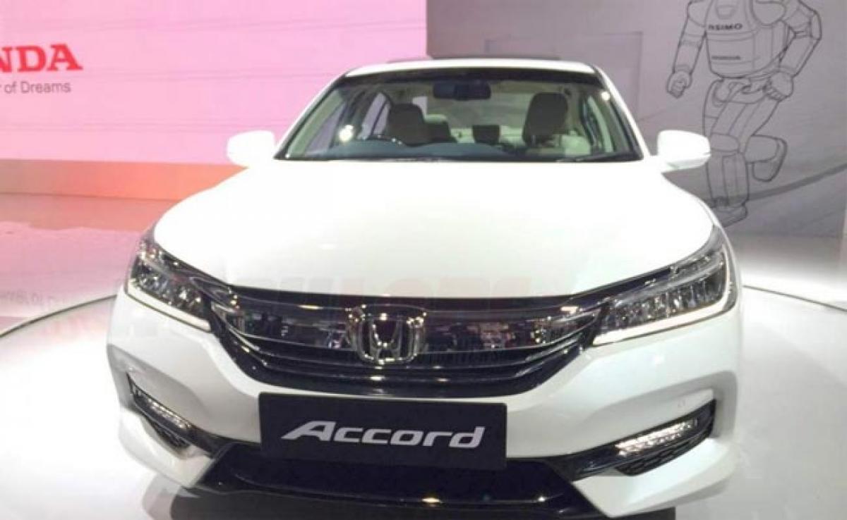 New Honda Accord at 2016 Auto Expo