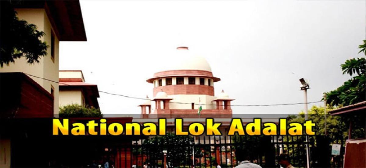 National Lok Adalat on July 8