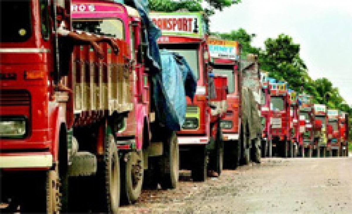 Truckers continue strike; disrupts goods supply to some areas