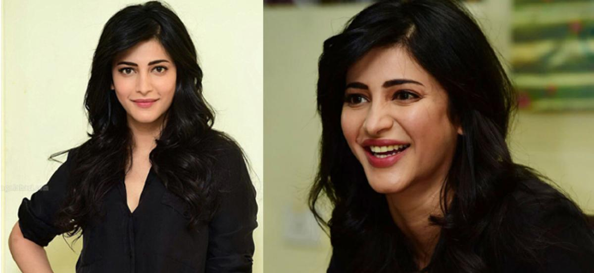 Pressure and comparisons don't affect me anymore: Shruti