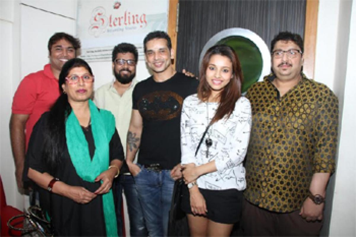 First Song Recorded for Sudip Pandey