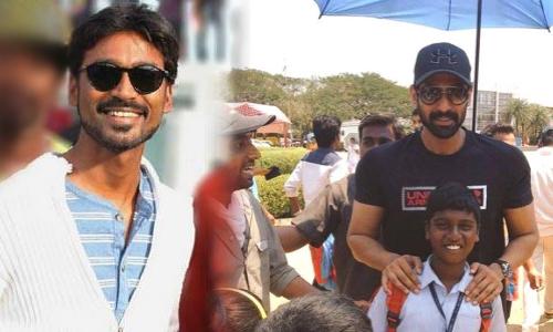 Bhallala Deva busy with Dhanush film shoot