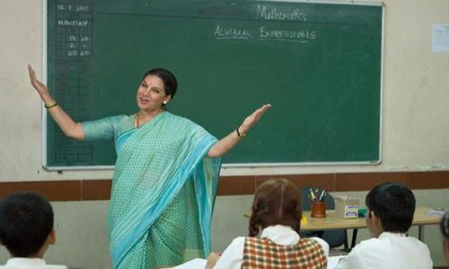 A dramatic tribute to teachers