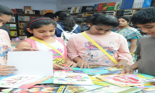 Children's day out at Book Fair