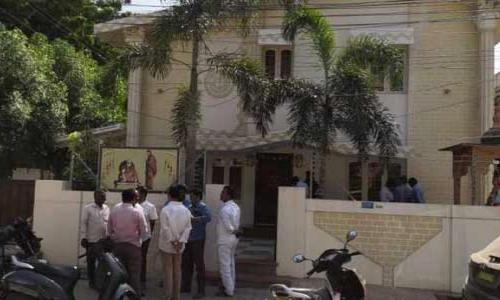 Andhra Pradesh: I.T.raids at house, offices of TDP leader Kovelmudi Ravindra