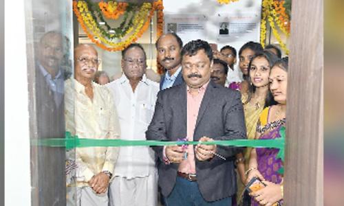 New computer lab inaugurated at Potti Sriramulu Chadalavada Mallikarjuna Engineering College in Vijayawada