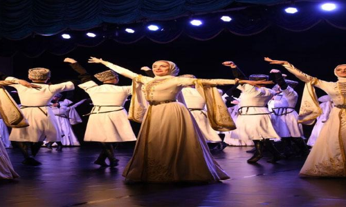 When Russians descended on Hyderabad stage