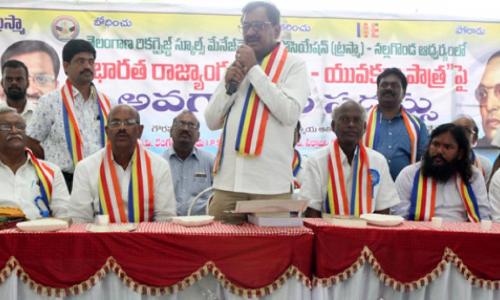 Carry forward Ambedkar's legacy: TSPSC chairman Dr Chakrapani