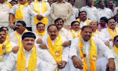 TDP leaders sore over party election process