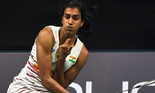P V Sindhu sails into last 8 with emphatic win