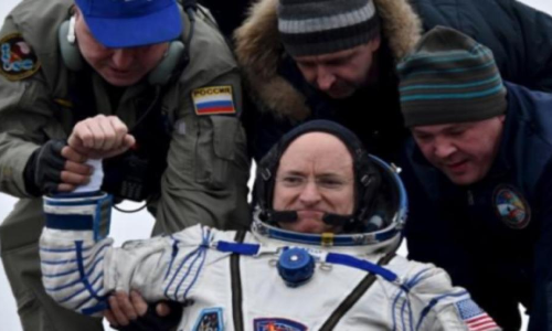 Back To Earth - US Astronaut Landed After One Year Mission In Space