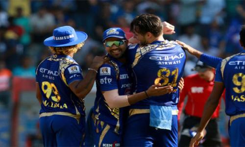 Rohit takes Mumbai Indians to play-offs
