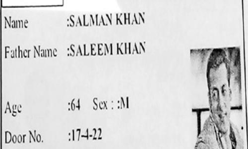 AK Khan out, Salman Khan in