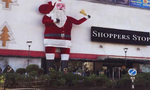 Check out Indias tallest Santa Claus