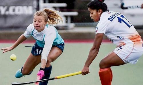 Indian hockey eves shoot down Uruguay